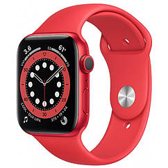 Apple Watch Series 6 GPS 44mm PRODUCT(RED) Aluminium Case with Red Sport Band M00M3
