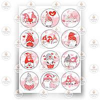 Печать съедобного фото - Вафельная бумага - День Святого Валентина №2