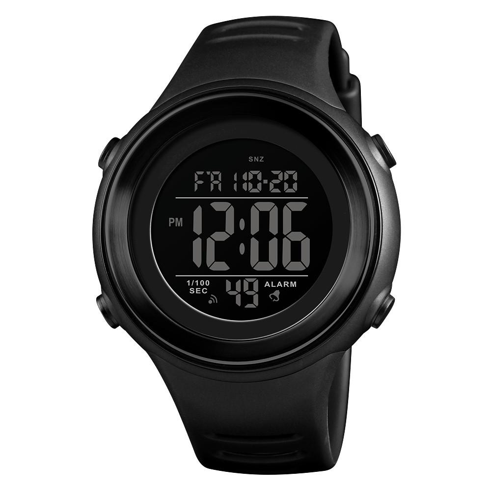 Skmei 1394 sun черные мужские спортивные часы