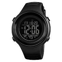 Skmei 1394 sun черные мужские спортивные часы, фото 1