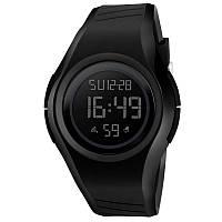 Skmei 1269 punto черные мужские спортивные часы, фото 1