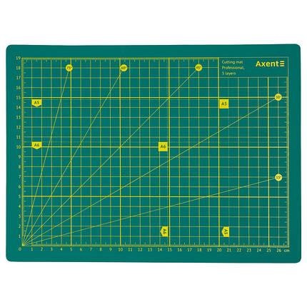 Килимок самовідновлювальний для різання Axent Pro 7907-A, А4, п'ятишаровий, фото 2