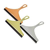 (GIPS), Скребок водосгон силіконовий для чищення вікон, дзеркал, кахлю - набір 3 шт