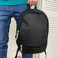 Мужской спортивный черный рюкзак Nike для тренировок | Городской молодежный портфель Найк