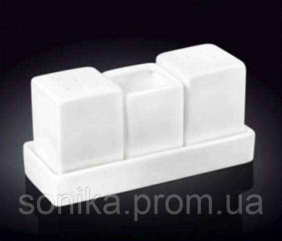 Набір сіль і перець Wilmax 4 предмета WL-996118/1C