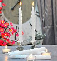 Свеча витая столовая набор из 2 шт. SW090