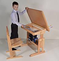 Парта трансформер Розумник детская домой (только стол)