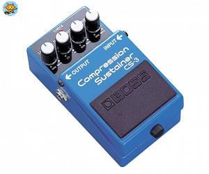 Педаль для электрогитары Boss CS3 Compression/Sustainer