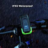 Велосипедный USB фонарь ZACRO + Пульт и Клаксон (800LM, IPX6, Аккумулятор 4000mAh, Дальний и Ближний свет), фото 9