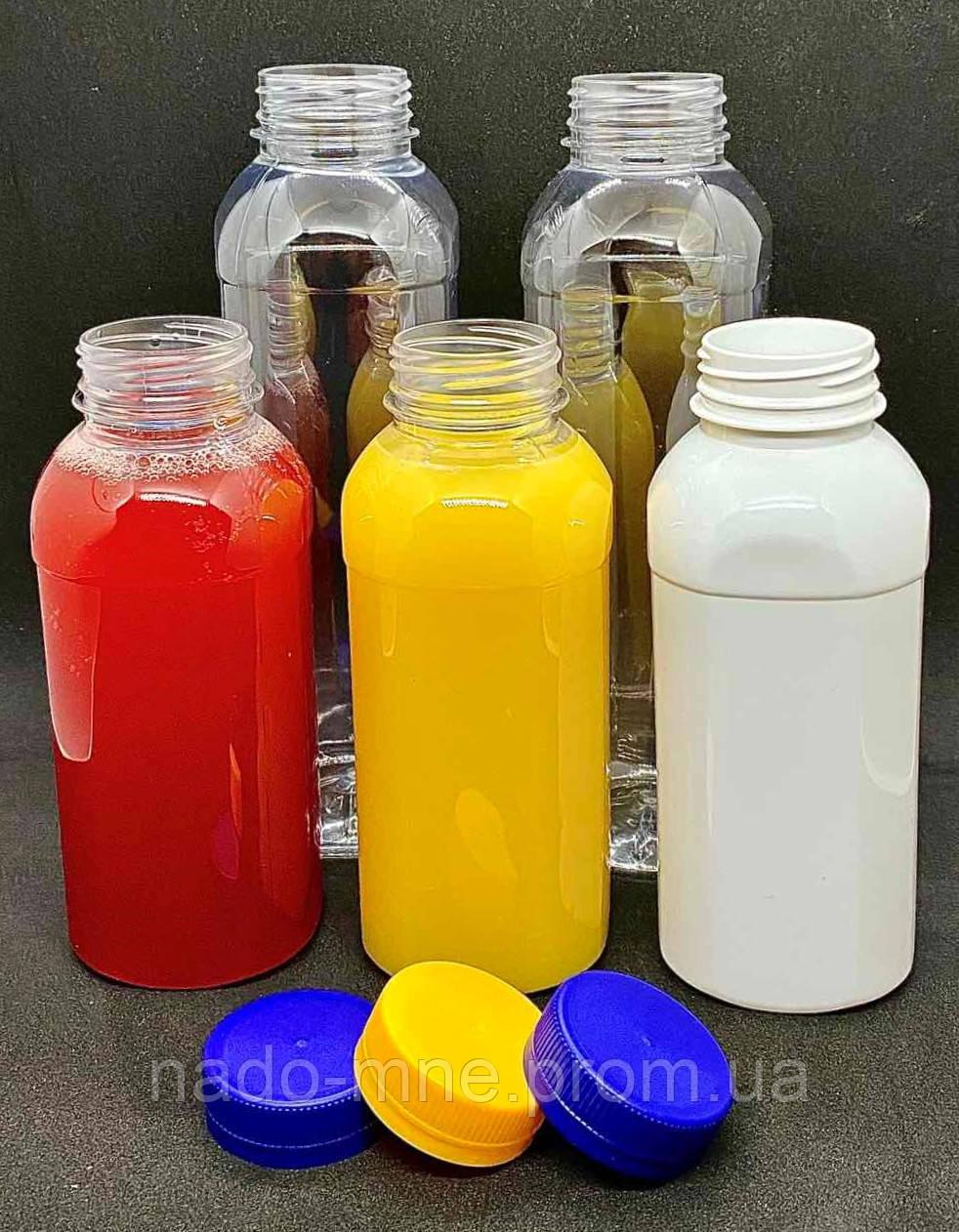 Пэт бутылка 250 мл. с широким горлом (38 мм), прозрачная, 200 шт./уп.