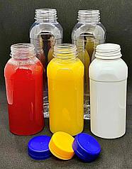 Пет пляшка 250 мл з широким горлом (38 мм), прозора, 200 шт/уп.