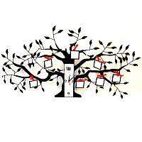 """Фоторамка """"Семейное дерево"""" с часами ZF80828"""