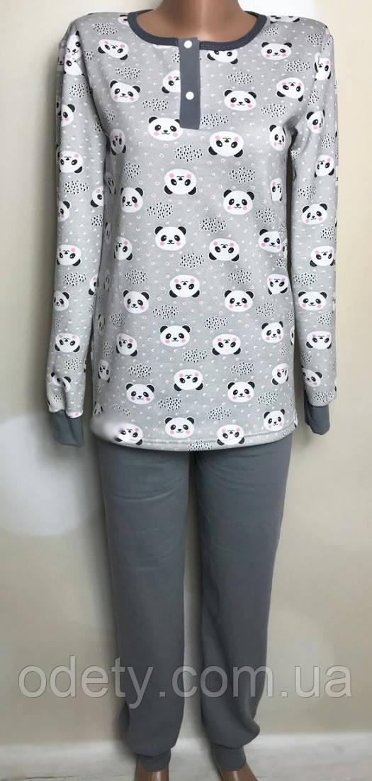 Пижама женская с планкой. Теплая пижама женская. Женская пижама с начесом. Пижама женская с начесом 54/56, серый