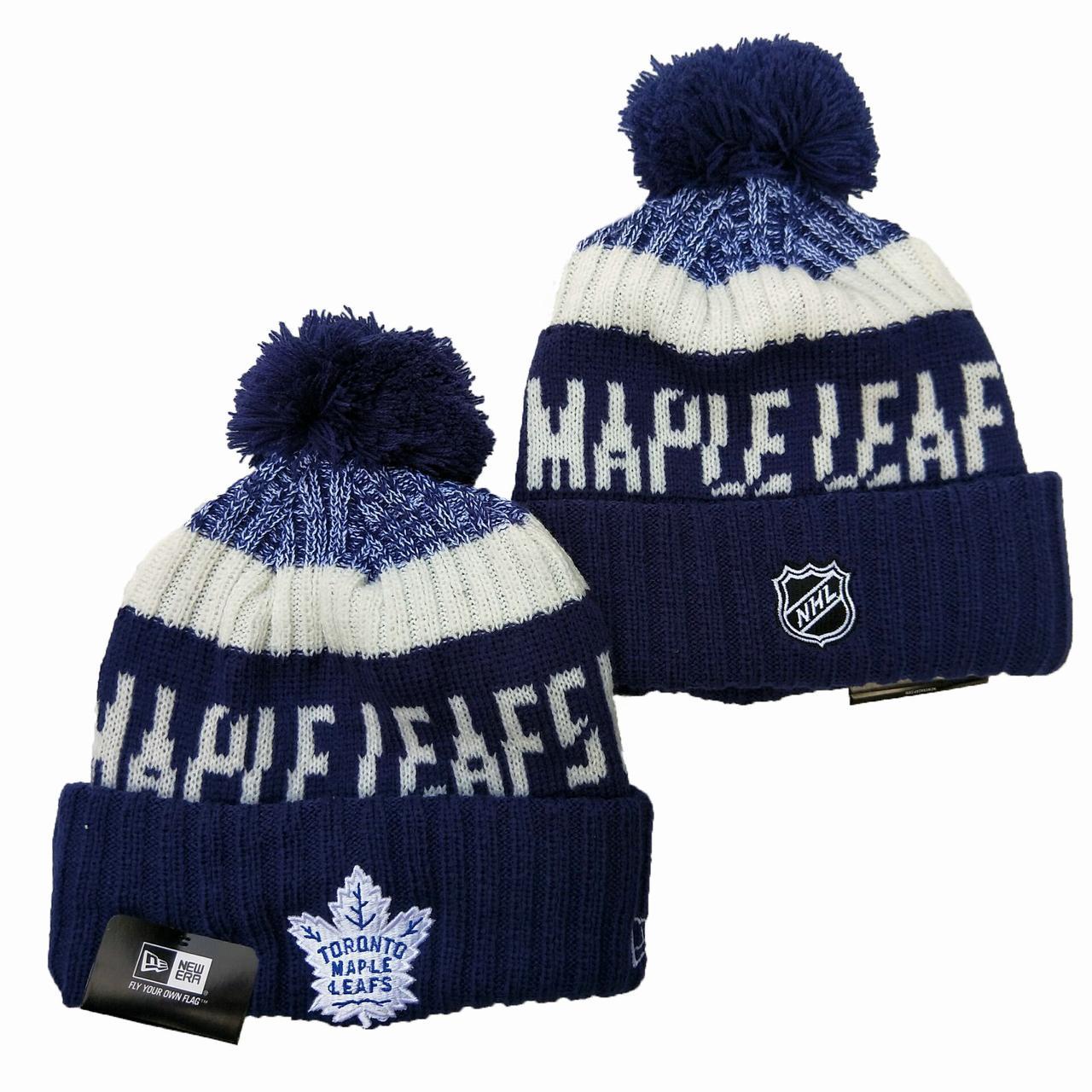 Шапка зимняя Toronto Maple Leafs / SPK-184 (Реплика)