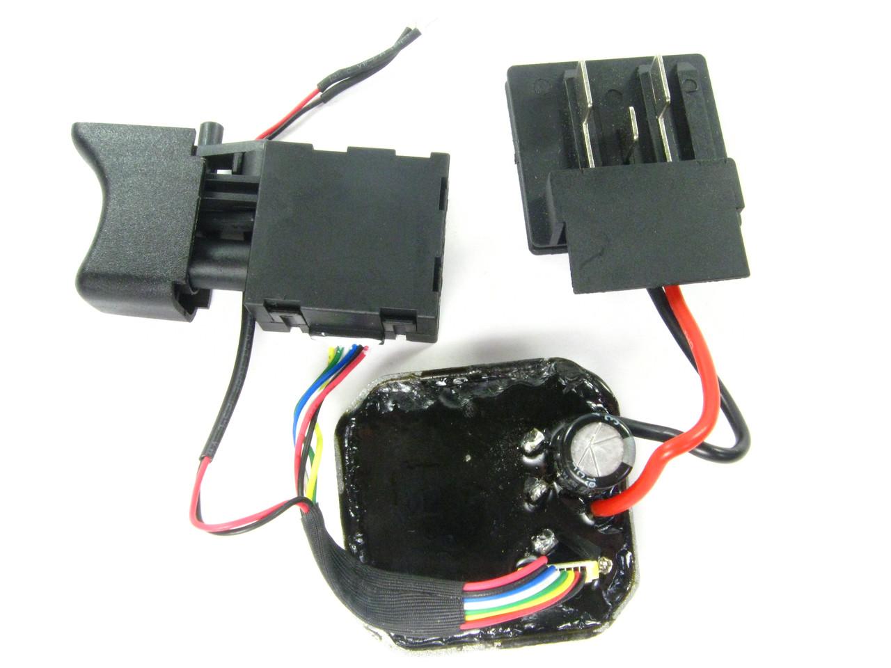 Кнопка в сборе бесщеточного шуруповерта Procraft PA18BL