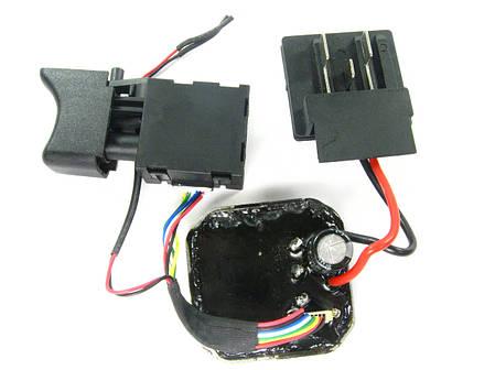 Кнопка в сборе бесщеточного шуруповерта Procraft PA18BL, фото 2