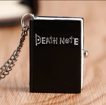Годинник кулон на ланцюжку Зошит смерті Death Note, фото 2