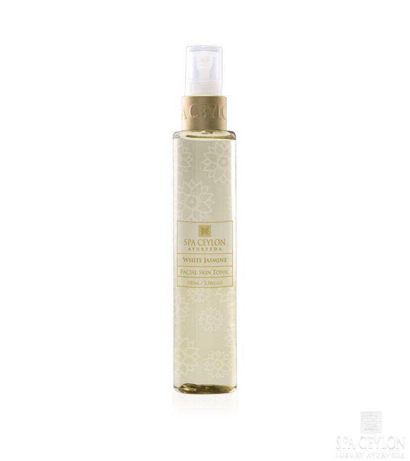 Тоник для кожи лица Белый Жасмин (White Jasmine Facial Skin Tonic, Spa Ceylon)