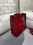 Жіноча сумочка комбінована нат.замша/кожзам 0230, фото 2