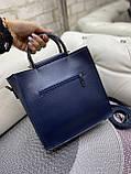 Жіноча сумочка комбінована нат.замша/кожзам 0230, фото 10