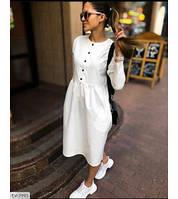 Красивое женское платье с карманами