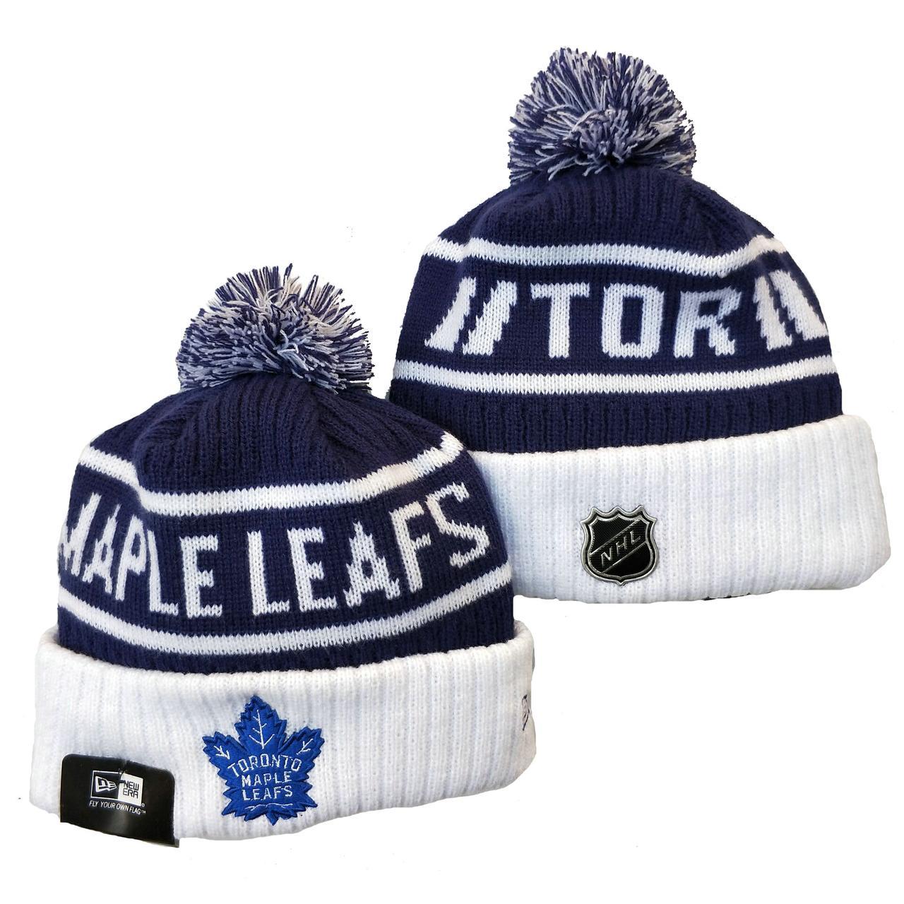 Шапка зимняя Toronto Maple Leafs / SPK-187 (Реплика)