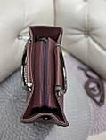Женская сумочка комбинированная нат.замша/кожзам 0230, фото 3