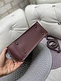 Жіноча сумочка комбінована нат.замша/кожзам 0230, фото 4