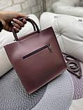 Женская сумочка комбинированная нат.замша/кожзам 0230, фото 5