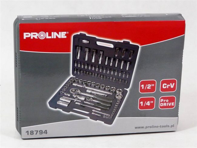 Набір інструментів Proline 94 елемента