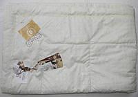 Летнее шелковое одеяло 200х220 0,7 кг. Goldentex кремовое