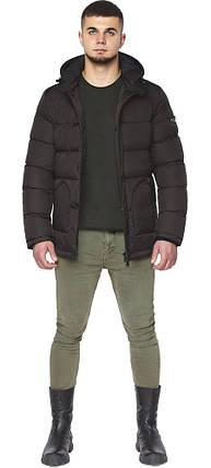 Мужская куртка цвета шоколада зимняя модель 27544, фото 2