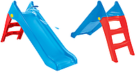 Гірка пластикова Mochtoys blue 140см 11966