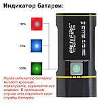 Велосипедный фонарь EBUYFIRE E-Y1+отличное крепление и USB TypeС (XML-L2*2, IPX6, Аккумулятор 18650*2 5200mAh), фото 4