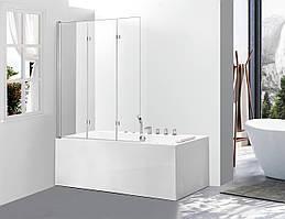 Скляна шторка для ванни AVKO Glass A542-7, 140х100