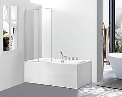 Скляна шторка для ванни AVKO Glass A542-2