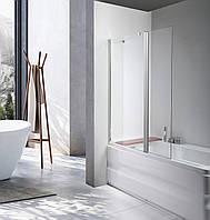 Стеклянная шторка для ванны  AVKO Glass A542-1, 140х100