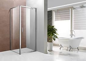 Скляна шторка для ванни 120х140 см