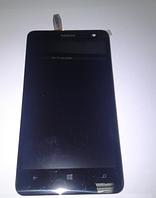Оригинальный дисплей (модуль) + тачскрин (сенсор) с рамкой для Nokia Lumia 625