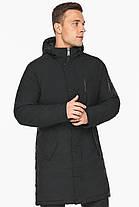 Куртка – воздуховик зимний мужской черный модель 38012, фото 3