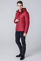 Красная ветровка осенне-весенняя мужская яркая модель 1386, фото 2