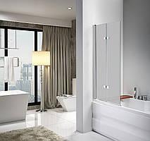 Скляна шторка для ванни AVKO Glass A647,100x140