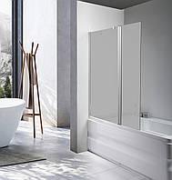 Скляна шторка для ванни AVKO Glass A542-1, 140х100