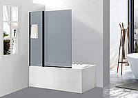 Скляна шторка для ванни AVKO Glass A542-8, 140x100