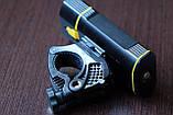 Велосипедный фонарь EBUYFIRE E-Y1+отличное крепление и USB TypeС (XML-L2*2, IPX6, Аккумулятор 18650*2 5200mAh), фото 9