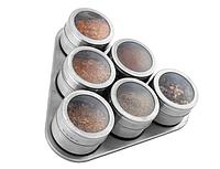 Набор для специй Edenberg на магнитной подставке 6 баночек EB-3499