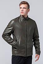 Куртка цвета хаки осенне-весенняя мужская стандартной длины модель 2193, фото 3