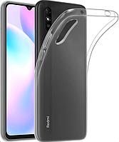 Прозрачный силиконовый чехол Xiaomi Redmi 9A