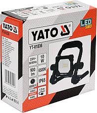 Переносний прожектор SMD LED 10 Вт YATO YT-81836, фото 3