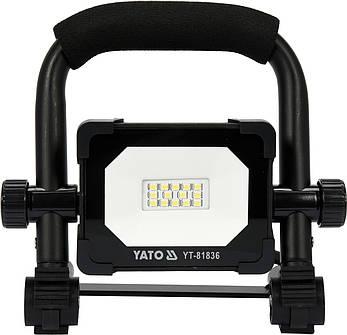 Переносний прожектор SMD LED 10 Вт YATO YT-81836, фото 2